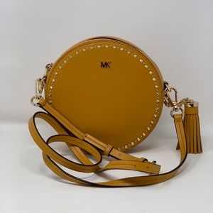 Michael Kors Studded Canteen Crossbody/Mini Bag